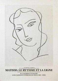Find the latest shows, biography, and artworks for sale by Henri Matisse. Henri Matisse was a leading figure of Fauvism and, along with Pablo Picasso, one of… Henri Matisse, Matisse Drawing, Matisse Art, Plakat Design, Picasso Paintings, Poster Design, Exhibition Poster, Exhibition Ideas, Exhibition Display