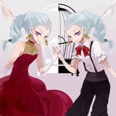 Death Parade // Nona I have found a new character that I would adore cosplaying as.