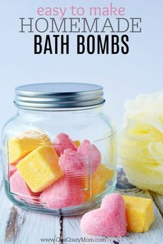 DIY Bath Bombs are so easy. You will love these homemade bath bombs. DIY bath bombs recipe is so fun. How to make bath bombs is so simple. Try making these fun bath bombs today! Wine Bottle Crafts, Mason Jar Crafts, Mason Jar Diy, Galaxy Bath Bombs, Beauty Hacks For Teens, Savon Soap, Homemade Bath Bombs, Diy Bath Bombs Easy, Homemade Scrub