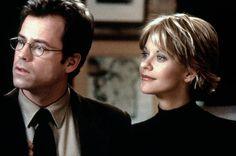 Frank (Greg Kinnear), Kathleen (Meg Ryan) ~ You've Got Mail (1998) ~ Movie Photos #amusementphile