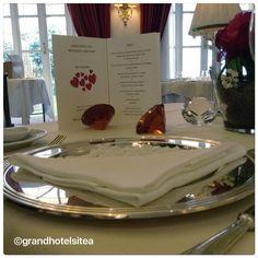 13 o 14 febbraio special tasting menu per San Valentino al nostro Ristorante Carignano http://grandhotelsitea.it/offerte-pacchetti/cena-san-valentino