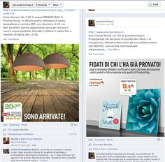 Pixartprinting announcing on their Facebook page they went live with Reevoo ratings and reviews.