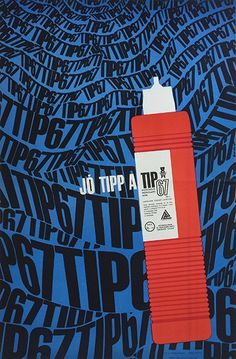 So-Ky - The TIP67 dishwashing liquid is a good tip 1969 Hungarian poster