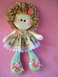 - Her Crochet Felt Dolls, Crochet Dolls, Doll Toys, Baby Dolls, Doll Sewing Patterns, Sewing Dolls, Doll Crafts, Sewing Crafts, Handmade Crafts