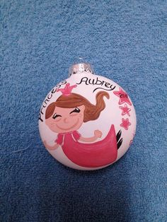 Princess Ornament by howsheseesitecwood on Etsy, $9.00