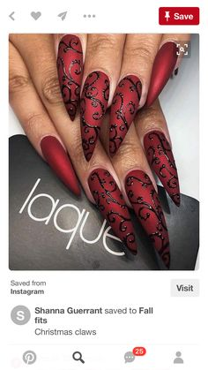 15 Stiletto Nail Designs zum Ausprobieren I know what you think, stiletto nails are a little too crazy sometimes and out there. But if you're the type to have those long, sharp nails … Beautiful Nail Art, Gorgeous Nails, Pretty Nails, Amazing Nails, Acrylic Nail Designs, Nail Art Designs, Nails Design, Acrylic Nails, Pedicure Designs