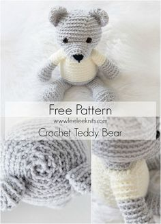 Crochet Teddy Bear - Free Pattern!