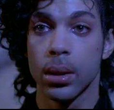 Purple Rain.wow u can see in his eyes as if he is remembering what actually happened