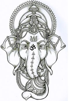 Ganesha will give me success and destroy both material and spiritual obstacles . - Ganesha will give me success and destroy both material and spiritual obstacles. In the ante arm, de - Ganesh Tattoo, Mandala Tattoo, Budist Tattoo, Hanuman Tattoo, Mandala Elephant Tattoo, Unalome Tattoo, Ganesha Drawing, Ganesha Art, Lord Ganesha