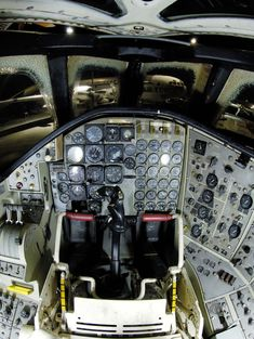 "toocatsoriginals: ""B-58 Hustler Cockpit """