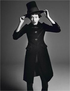 Karlie Kloss Works It for David Sims in Vogue Paris Shoot