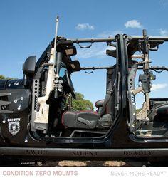 Condition Zero Mounts | Never More Ready – USA Made Vehicle Gun Mounts
