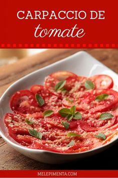 O carpaccio é um prato tradicional na Itália, originalmente feito com carne laminada. Hoje em dia o prato é servido em restaurantes e lares usando os mais diversos tipos de alimentos. Esse prato é uma ótima opção de entrada para...