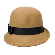 Asymmetrical Curled Brim Cloche. SetarTrading Hats 994cc7e77d0b