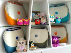 iBook and Furbies Apple Home, Toy Boxes, Nerdy, Nintendo, Mugs, Nerd Stuff, Apples, Dawn, Tech