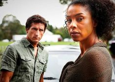 Brit Sophie Okonedo and Jonathan LaPaglia (bro of Anthony) in The Slap.