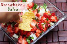 Strawberry Fruit Salsa