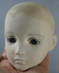 球体関節人形の作り方 14・磨き