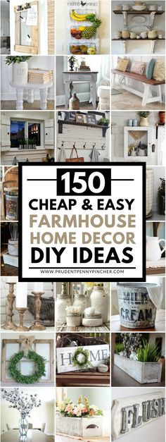 120 Cheap and Easy DIY Rustic Home Decor Ideas Taps Pandora and