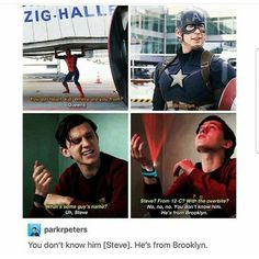 Idk about you but peter parker gives me a lot of feelings