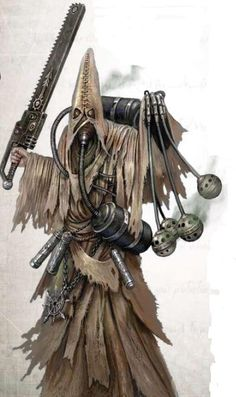 "Warhammer 40k, Chaos Cults - ""Apostate Priest"""
