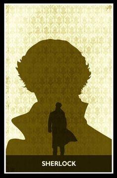 Sherlock BBC by Minimalist Prints Sherlock Poster, Sherlock Holmes 3, Classic Movie Posters, Minimal Poster, Border Print, Baker Street, Poster Prints, John Watson, Sociopath