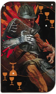 X post from Dragon Age, this tarot style card looks like Annomander Rake does in my head, More from the Deck in comments. Fantasy Rpg, Medieval Fantasy, Fantasy Artwork, Baphomet, Illustrations, Illustration Art, Dragon Age Tarot Cards, Dragon Age Series, Dragon Age Games
