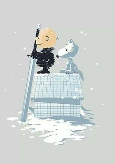 Charlie Brown Game of Thrones