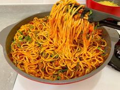 Baked Spaghetti Pie, Turkish Breakfast, Turkish Kitchen, Healthy Eating Habits, Arabic Food, Food Design, Pasta Recipes, Food And Drink, Yummy Food