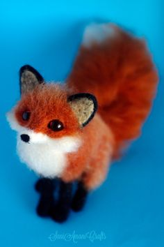 Red fox V by SaniAmaniCrafts on DeviantArt