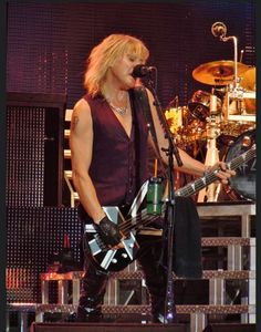 Taken on December 2011 at the LG Arena Birmingham as part of Def Leppard's Mirrorball Tour. Beatles, Rick Savage, Rock Of Ages, Def Leppard, Bon Jovi, Music Bands, Rock Music, Rock Bands, Rock