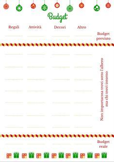 budget per natale