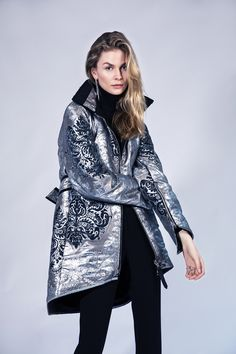 57baadfedc8 Reversible, waterproof, metallic coat by Therma Kōta - A New Luxury Nordic  Outerwear Brand. Therma Kota