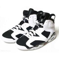 9b1356569bd6d1 384664-101 Air Jordan 6 (VI) Retro Oreo White Black A06010