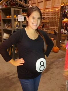 Cute pregnant Halloween costume @Emily Schoenfeld Schoenfeld Schoenfeld Schoenfeld Schoenfeld Schoenfeld Davies  sc 1 st  Pinterest & 28 Pregnant Women Who Slayed Their Halloween Costume #19 Is Wrong ...