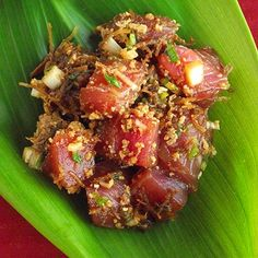 Hawaii: Hawaiian Poke- Traditional Style: Are you brave enough to taste the island flavor?