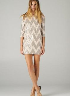 Taupe Sequin Dress must have =)