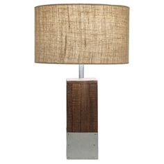 Ren Table Lamp - Natural | Maine Cottage