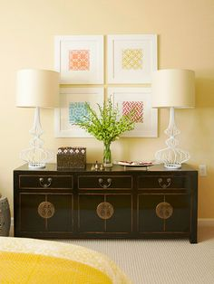 Update your walls with these wall art decorating ideas. These simple, DIY fixes using upcycled materials are budget friendly and let you add your own personal style to any room in the house.