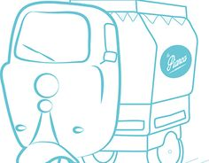 "Check out new work on my @Behance portfolio: ""Logo foodtruck La Pianca Rodante"" http://be.net/gallery/37427009/Logo-foodtruck-La-Pianca-Rodante"