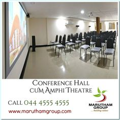 Fed up of standing in queue for your movie tickets?   No more queue or paying extra amount for your movie ticket. We, Marutham Group have provided spacious amphi theatre in our latest project 'Marutham Classic'.