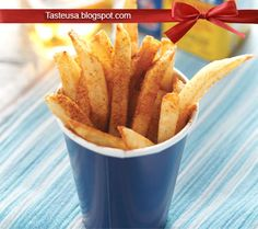 Beach Fries Recipe Side Dishes with russet, white vinegar, peanut oil, old bay seasoning, apple cider vinegar Potato Recipes, Snack Recipes, Cooking Recipes, Snacks, Cooking Ideas, Vegetable Recipes, Food Ideas, Fries Recipe, Recipe Recipe