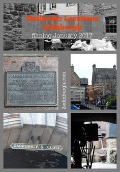 Outlander Locations - Edinburgh around the Royal Mile in Bakehouse Close - Canongate and Tweeddale Court - High Street.  We were peeking to see what we could see!
