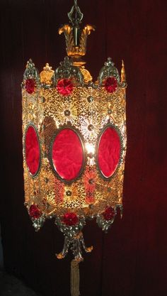 1960's French Empire Style Hanging Retro Lighting Need it, want it love it!