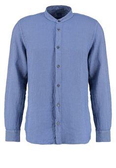 120% Lino GURU SLIM FIT Hemd federal blue Premium bei Zalando.de | Material Oberstoff: 100% Leinen | Premium jetzt versandkostenfrei bei Zalando.de bestellen!