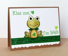 Homemade St. Patrick's Day Cards ...