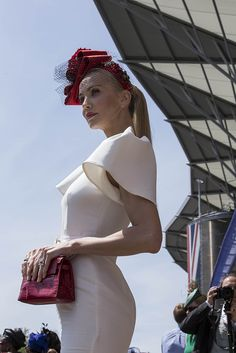 Magnificent millinery on the grounds at the Royal Ascot. [Photo: Francisco Gomez de Villaboa]