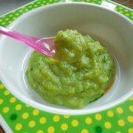 Hráškovo-cuketový příkrm recept - Vareni.cz Guacamole, Mexican, Ethnic Recipes, Baby, Food, Essen, Babys, Baby Humor, Baby Baby