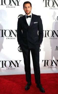 Zachary Levi + Suit + Bow tie = PERFECTION. <3