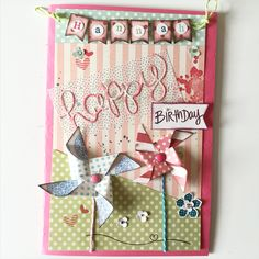 Geburtstagskarte #birthday #card #scrap